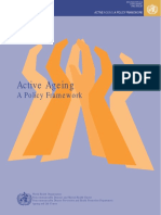 Active Aging - A Policy Framework