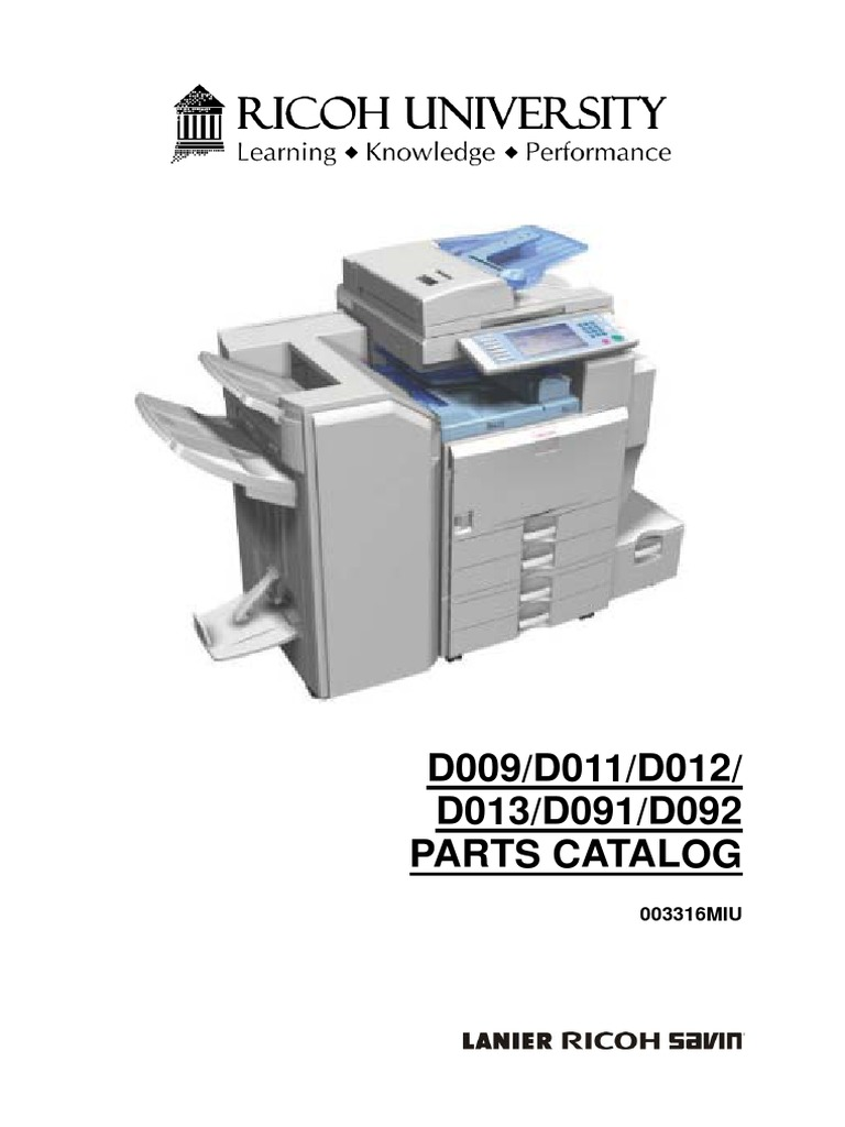 parts manual mp 4000 pdf rh scribd com ricoh aficio mp c4000 driver ricoh aficio mp 4000 manual pdf