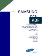 Samsung DCS 816 Programming Manual Version 2