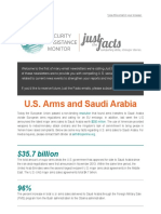 u s  arms sales to saudi arabia