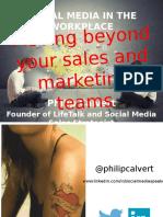 Social Media in the Workplace - EXPORH - Philip Calvert