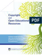 pub copyright and oers