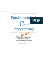 Fundamentals of Programming C++