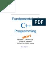 Fundamentals of Programming C++