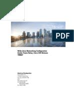 Wide Area Network Configuration Guide