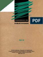 Cadernos de Subjetividade 14 (2012)