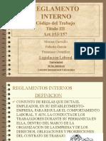 Reglamento Laboral