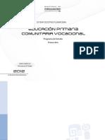 Planes y Programas Primaria