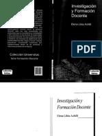 Investigación y Formación Docente - Achilli E.