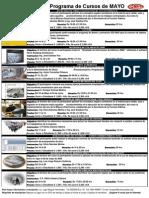 Calendario de cursos de la ICIC de Mayo de 2010