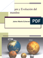 Origen y Evolución Del Hombre