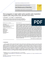 Applied Mathematical Modelling Volume 36 Issue 9 2012 [Doi 10.1016%2Fj.apm.2011.11.073] S. Narendar; S.S. Gupta; S. Gopalakrishnan -- Wave Propagation in Single-walled Carbon Nanotube Under Longi