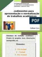 Aula 3 - Parte Textual - Desenvolvimento