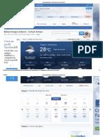 Referencia climática para la localidad de Adaure