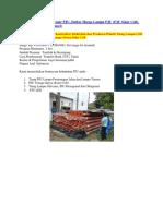 Brosur Lampu PJU, Brosur PJU, Daftar Harga Lampu PJU (PJU Solar Cell), 0822-4558-2777 (Telkomsel)