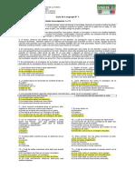 Guía de Lenguaje 8° Básico 1