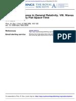 Gravitational Waves in General Relativity