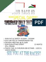 Club Race 2 Flier