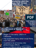 bank of america and the occupy wall street movement  1