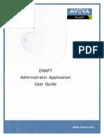 DRAFT Administrator Application User Guide