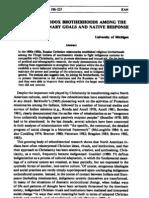 Ethnohistory Sergei Kan on Orthodox Brotherhoods