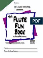 Newman,L.flute Fun Book.children Music WorkShop