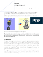 Identification of the Diesel Engine Components