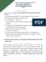 Concurso de Ortografia Primera Fase 2014 Tercer Grado Dante