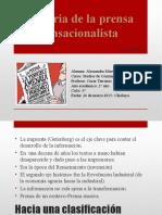 Historia de la prensa sensacionalista