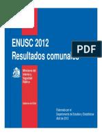 Ranking Comunal 2012