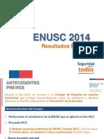 Presentacion Resultados ENUSC 2014