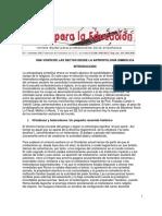 UNA VISIÓN DE LAS SECTAS DESDE LA ANTROPOLOGÍA SIMBÓLICA