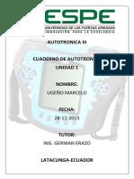 Cuederno de Autotronica III (Unidad 1)PDF