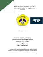 Kelompok 11 - Dokumentasi Pada Pemberian Obat