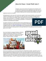 La forme plus grandiose du Chaos - Grand Theft Auto 5 examen