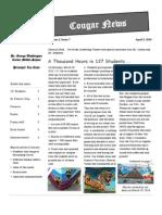 Cougar News April10