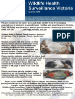 Wildlife Health Surveillance Vic Flier Mar 2016