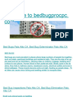 Bed Bug Inspections Belmont CA, Commercial Bed Bug Inspections Belmont CA