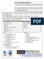 Frp Epoxy Pultrusion Catalog