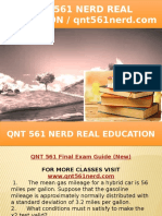 QNT 561 NERD Real Education - Qnt561nerd.com