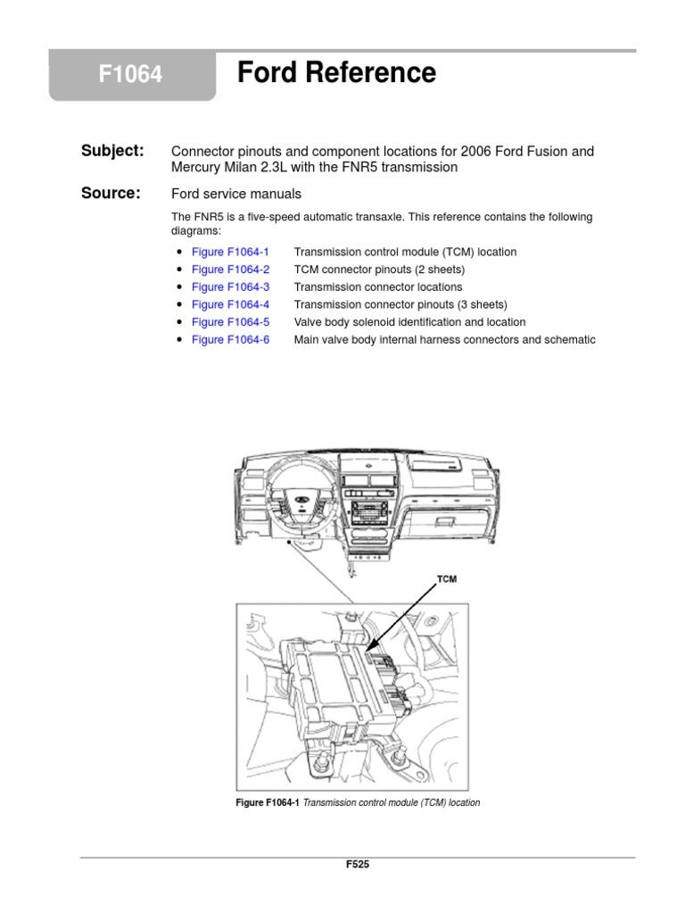 4f27e Solenoid Diagram Schematic Diagrams 4r55e Wiring Fnr5 5r55e