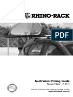 Rhino Rack Price List