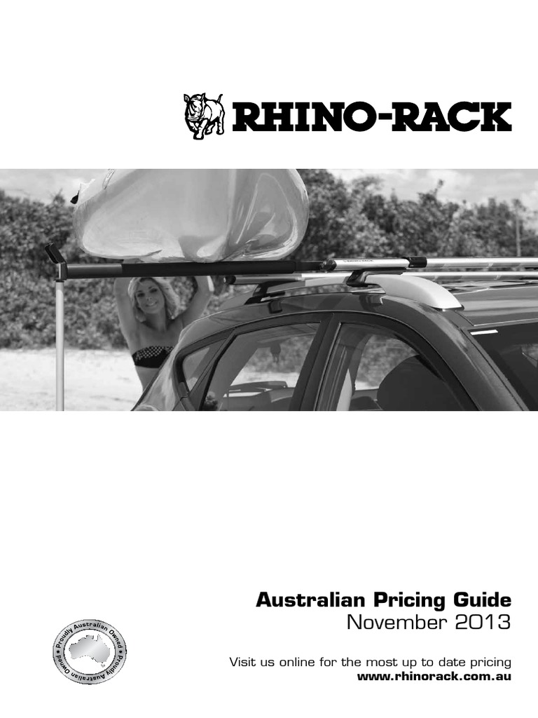 Rhino-Rack USA RMPH Multi Purpose Holder Fits Heavy Duty and Vortex Bars