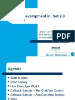 Ajax Development in Dot Net 2005