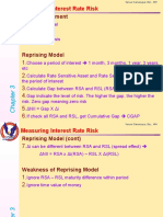 Int Banking Ch 3 Measuring Interest Rate Risk
