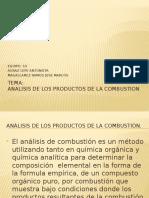 1.10 Analisis de Productos de La Combustion