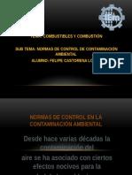 1.11 Normas de Control de Contaminacion Ambiental