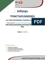 ExamsGrade TFINCTAPLIXM2001 Exam Training Kit