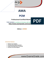 ExamsGrade PCM Exam Training Kit