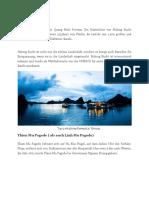 Top 5 Attraktives Reiseziel in Vietnam